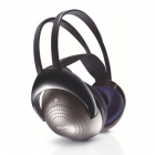Philips SHC2000 Infrared IR Wireless Transmission Ear-Cup Headphones - Black