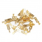 Speaker Power Amplifier Cable Terminal Lug - Golden (95pcs)