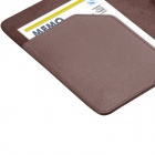 "Protective PU Leather Flip Case Cover for Amazon Kindle Voyage 6"" - Brown"