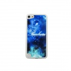 Ultra-thin Night Sky Pattern Protective PC Back Case for IPOD TOUCH 5 - White + Blue + Multicolor