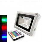 10W 1000lm 6000K Magic LED White Light Projection Lamp with Remote Controller - White
