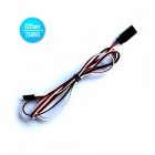 26AWG JR Male to JR Female Servo Extension Leads Wires Cables - Black + Red + White (620mm / 30 PCS)