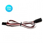 22AWG JR Male to JR Female Servo Extension Leads Wires Cables - Black + Red + White (620mm / 30 PCS)