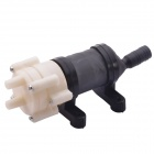 NEJE AH0002-6 diafragma pneumática Water Pump Set - Black + White (6 ~ 12V)