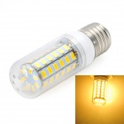 Marsing E27 10W 900lm 3000K 56 x SMD 5730 LED Warm White Light Lamp (AC 220~240V)