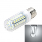 Marsing E27 10W 900lm 56-SMD 5730 LED Cold White Lamp (AC 220~240V)