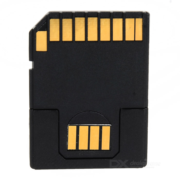 CY EP-069 Micro SD / TF to SD Memory Card /  USB Flash Disk Adapter - Black