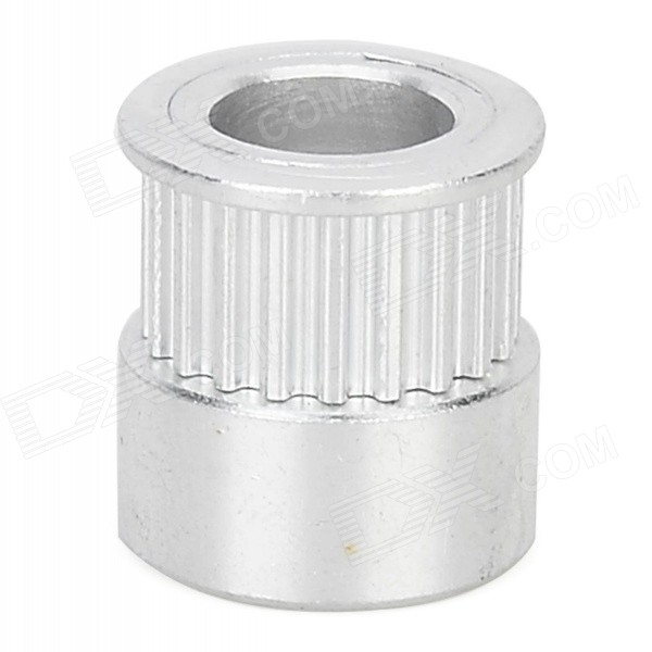 3D Printer Aluminum 8mm 20-Teeth Timing Belt Pulley for MXL - Silvery White cnc parts aluminum pulley timing pulleys