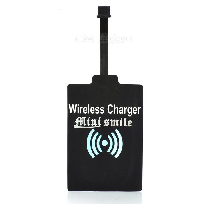 TI Chip QI Wireless Charger Receiver Module for Motorola MOTO G2 - Black