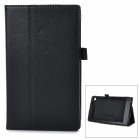 Protective PU Smart Case w/ Stand for Asus MeMOPAD7 / ME572CL - Black
