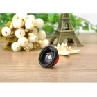 Universal Clip-On 0.4X Super Wide Angle Lens for IPHONE / Samsung / IPAD - Black + Red