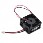MaiTech DIY 4 x 4cm DC12V 0.13A Cooling Fan for PC Main Host - Black