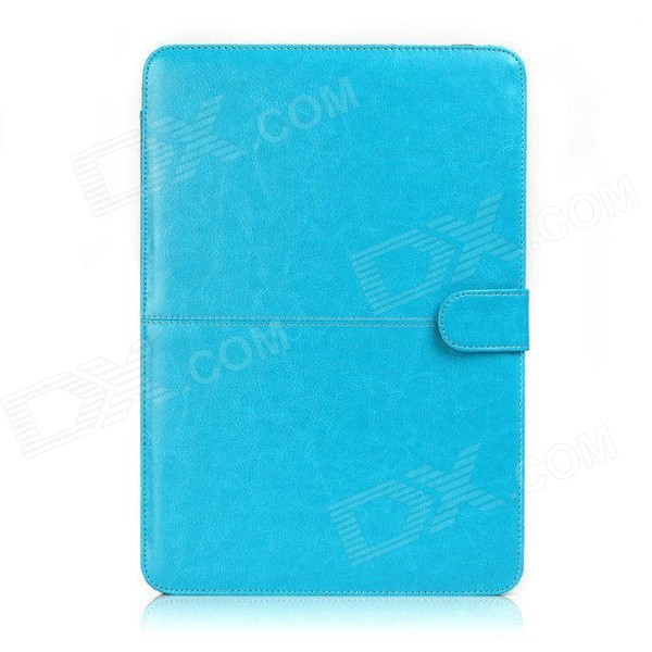 Protective PU Leather Flip Open Case for Macbook Air 13.3