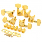 Square Head Sealed String Winders for 40/41 Acoustic Guitar - Gold (6 PCS)