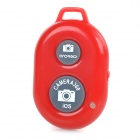 Rechargeable Wireless Bluetooth V3.0 Selfie Remote Shutter - Red