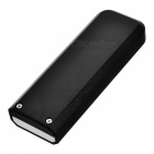 YC02 Windproof USB Rechargeable Cigarette Lighter w/ Money Detector Function - Black + White