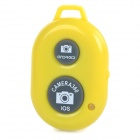 Rechargeable Wireless Bluetooth V3.0 Selfie Remote Shutter - Yellow