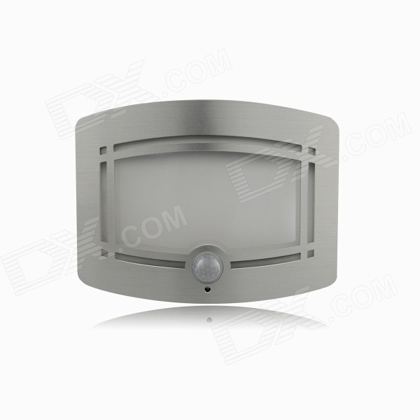 Lightmates WS01 0.7W 30lm 3500K Warm White Human Body Induction Light Control LED Wall Light Battery