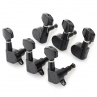 Square Head Sealed String Winders for 40/41 Acoustic Guitar - Black (6 PCS)