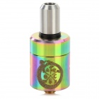 Guardian God Style RDA Stainless Steel Atomizer - Silver + Multicolored