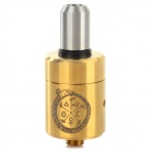 Guardian God Style RDA Stainless Steel Atomizer - Gold + Silver