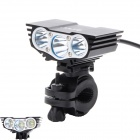 Buy ZHISHUNJIA ZSJ360-X3 4-Mode White 3-LED Bike Light Mount (6*18650)