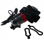ZHISHUNJIA ZSJ-5VT6 780lm 3-Mode 3-LED White Light 5V Mobile Power USB Bike Headlamp - Grey + Red