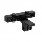 Fat Cat Outdoor Cycling Bike 2-Rail Zadel Seat Mount voor GoPro Hero4 / 3/2 + SJ4000 / 5000 - Zwart