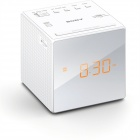 Genuine Sony ICF-C1 Radio Alarm Clock - White