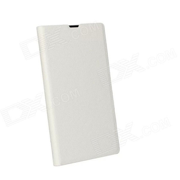 Stylish Protective Flip-Open PU Leather + PC Case w/ Stand for Sony Xperia Z1 (L39H) - White комбинезон elie tahari комбинезон