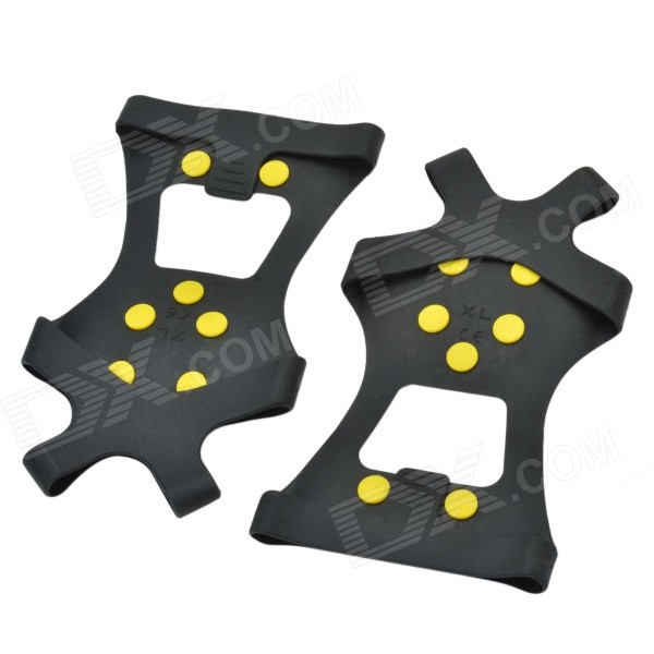AYD-901 Non-Slip Ice Climbing / Mountaineering Snow Shoes Cleats Crampons for EUR 45~48 (XL / Pair)