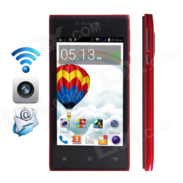 CUBOT GT72+ Dual-Core Android 4.4 WCDMA Bar Phone w/ 4.0