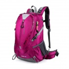 Makino Outdoor Travel Backpack Mountaineering Bag - Deep Pink (50L)