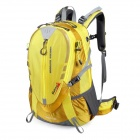 Makino Outdoor Travel Backpack Mountaineering Bag - Yellow (50L)
