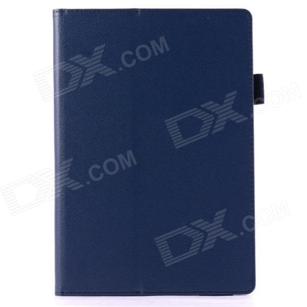 Protective PU Leather Case Cover Stand w/ Auto Sleep for Google Nexus 9 - Deep Blue