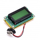 "1.6"" LCD 0~500MHz Wide-Range High-Precision Frequency Meter Tester - Green + Multicolor"