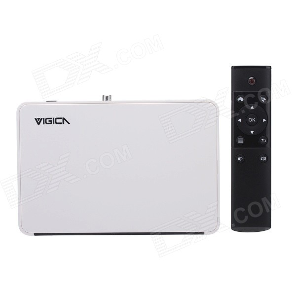 VIGICA V5 Quad-Core Android 4.4.2 Google TV Player w/ 1GB RAM, 8GB ROM, Bluetooth, H.265, EU Plug