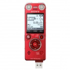 Genuine Sony 16GB SX Series Linear PCM Recorder ICD-SX1000/R - Red
