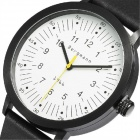 Bergmann 1966 Classic Men's Watch-Black + White