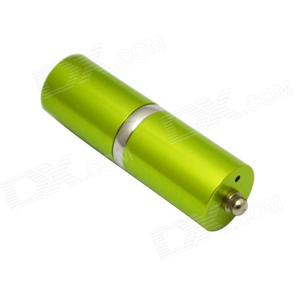 H&G03.16 Portable Tubular Shaped USB Flash Drive - Green (16GB)