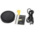 Qi Wireless Charger Transmitter + Receiver Kit for LG G3 - Black