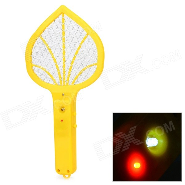 Mini Home Electric Steel Wire Mesh Mosquito Racket - Yellow (2 x AA) eureka circuit breaker with 2 wire cord and switch s782