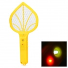Mini Home Electric Steel Wire Mesh Mosquito Racket - Yellow (2 x AA)