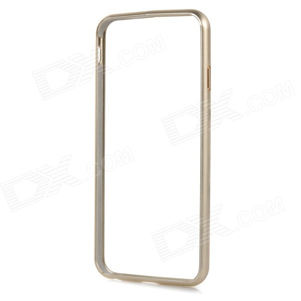 Protective Aluminum Alloy Bumper Frame Case w/ Lock Catch for IPHONE 6 - Champagne Gold protective aluminum alloy bumper frame case for iphone 5 rose gold