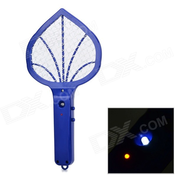 Mini Home Electric Steel Wire Mesh Mosquito Racket - Deep Blue (2 x AA) eureka circuit breaker with 2 wire cord and switch s782
