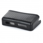 Car Mobile Phone Holder Storage Box Container w/ Sticker / Charging Holes - Black