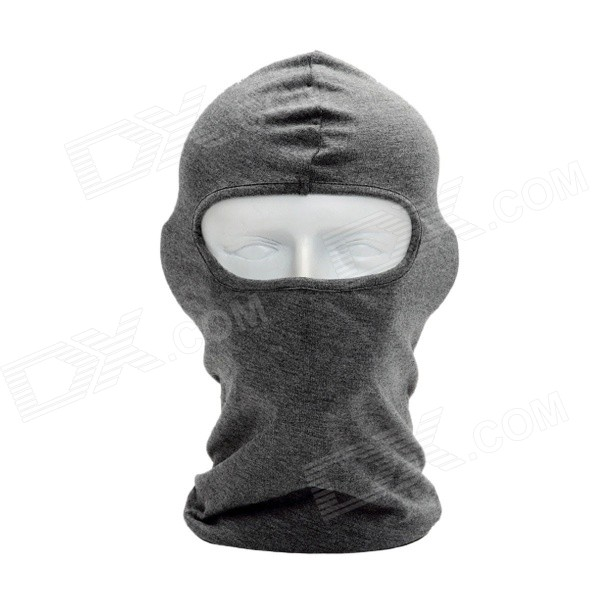 BF-D Men's Fashionable Multi-functional Outdoor Headgear Face Mask - Grey protective outdoor war game military skull half face shield mask black