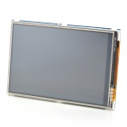 "Waveshare 3.5"" LCD Touch Screen for Raspberry Pi B / B+ - Black + Blue"