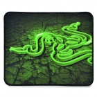 Razer Control Nylon + Rubber Mouse Pad - Black + Green (S)