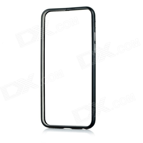 Protective Aluminum Alloy Bumper Frame Case w/ Lock Catch for IPHONE 6 - Black